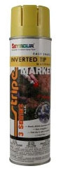 Paint-Precaution Blue 20oz Inv Tip 12/Cs - Marking Supplies