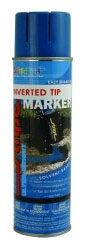 Paint-Clear 20 Oz Inv Tip12/Cs - Marking Supplies