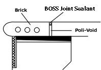 Boss Joint Seal-Tan - Sealants, Caulks & Adhesives