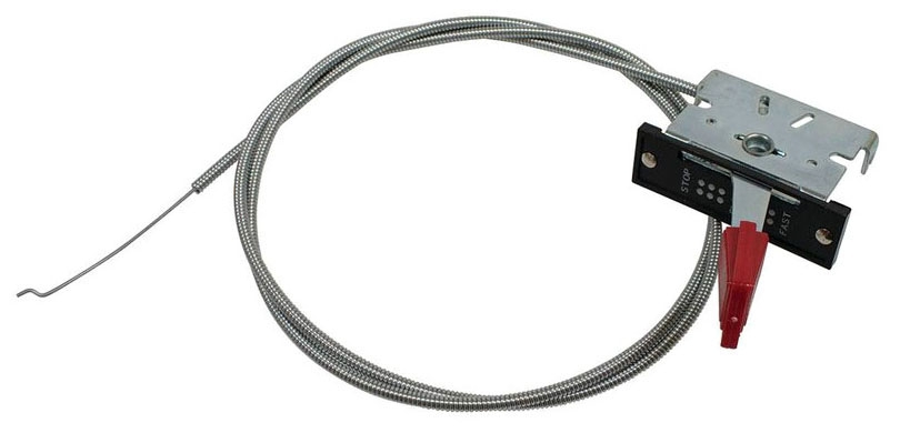 Throttle Control Cable w/ T-Handle - Power Tool Accessories