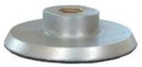Grinder Back Pad-5 inX 5/8-11 Metal W/ V - Grinding