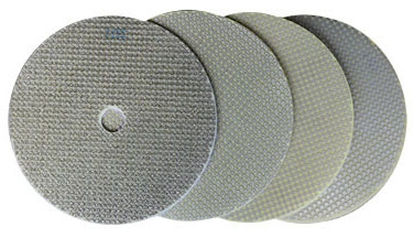 Diamond Pad-7 inX 50 Grit W/ Velcro - Surface Preparation & Polishing
