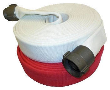 Fire Hose- 1-1/2in x 50ft Double Jacket - Site & Environmental