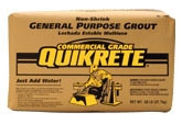Grout-Non Shrink GP 50lb Bag 63/Pt - Concrete Materials