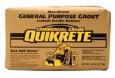 Grout-Non Shrink GP 50lb Bag 63/Pt - Construction Powders & Chemicals