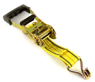 Ratchet Strap-2in x 27ft w/ Hook - All Trade