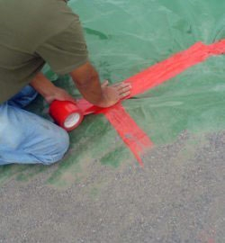 Vapor Barrier Tape-4in x 180f Perminator - Building Materials