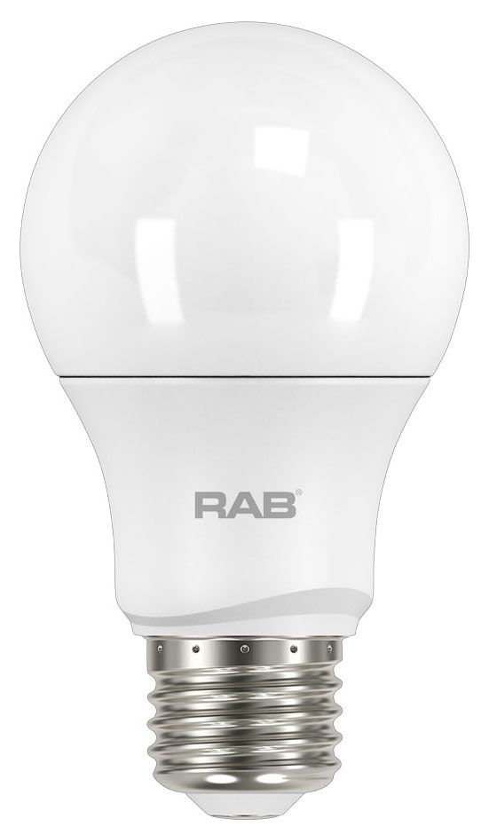 RAB A19-15-E26-850-DIM RAB A19 15W 5000K 1680 LUMEN MED BASE DIMMABLE LED LAMP