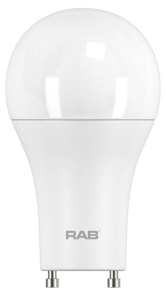 RAB A19-9-GU24-830-DIM RAB LED A19 9.5W 800lm GU24 3000K DIMMABLE
