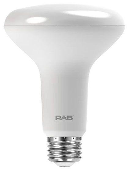 RAB BR30-10-940-DIM RAB 10W BR30 4000K 750 LUMEN MED BASE DIMMABLE LED LAMP