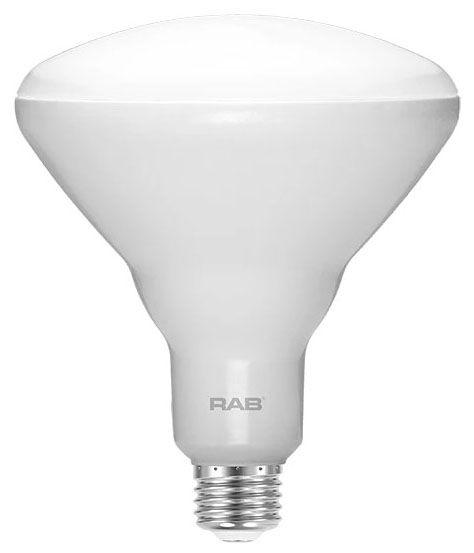 RAB BR40-11-930-DIM RAB 11W BR40 3000K 900 LUMEN MED BASE DIMMABLE LED LAMP