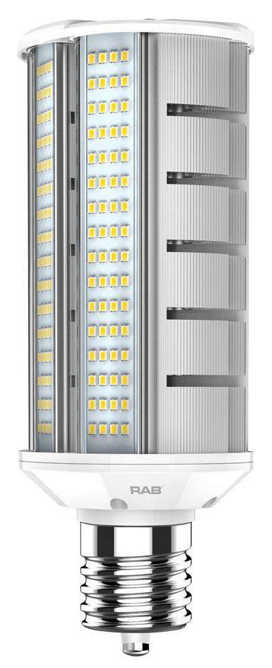 rab HID-40-H-EX39-840-BYP-WP RAB LED 4000K 6200 LUMEN MOG BASE 100-277V HORIZ SHOE BOX LAMP
