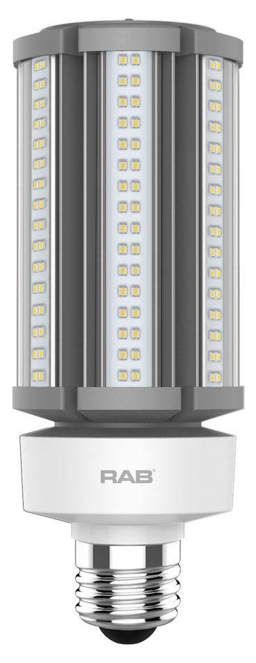 RAB HID-45-E26-840-BYP-PT RAB LED 45W E26 PST TOP 4000K 6800LM LAMP