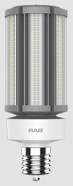 RAB HID-54-EX39-850-BYP-PT RAB LED 5000K 8100 LUMEN MED BASE 100-277V LAMP (REPLACES 200-250W HID)