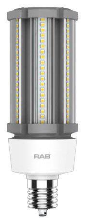 RAB HID-80-EX39-840-BYP-PT RAB LED 4000K 10800 LUMEN MOG BASE 100-277V (REPLACES 320W HID)
