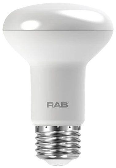 RAB R20-7-830-DIM RAB 7W R20 3000K 525 LUMEN MED BASE DIMMABLE LED LAMP