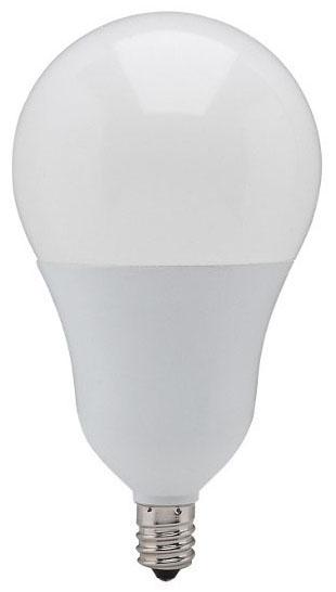 sat S21801 SAT 6A19/OMNI/220/LED/E12/30K 6W 3000K 480 LUMEN CAND BASE LED LAMP