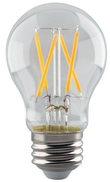 sat S8550 SAT 5W A15 2700K 500 LUMEN DIMMABLE 120V VINTAGE LED LAMP