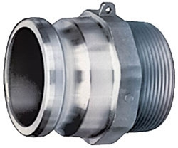 Adaptor-2in Part F Male x MPT - Hoses & Accessories