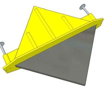 QuicDiamond Flat Dowel- 3/8