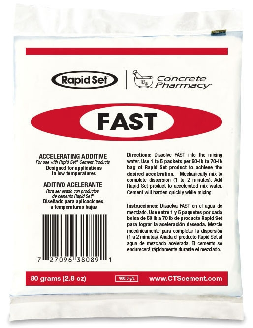 Rapid Set Fast Set Packet