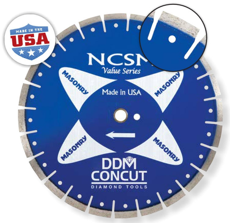 Diamond Blade-14in x .125 Masonry - Masonry