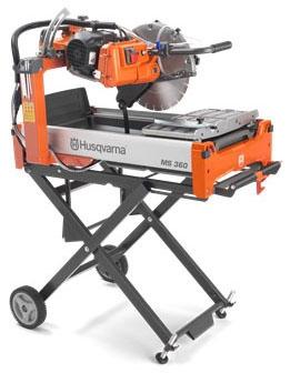 MS360 Block Saw-14in 115V (Husqvarna) - General Construction Equipment