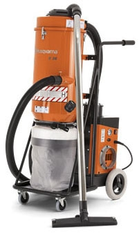 Vacuum-36S HEPA 120V 285 CFM 3.2 HP - Concrete Equipment