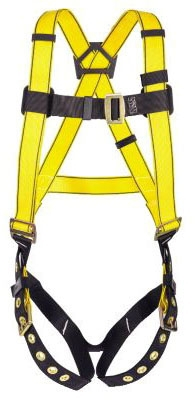 D-Ring Harness- Single 3D Ring - Fall Protection