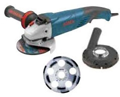 Concrete Surfacing Kit 5in - Grinders & Polishers
