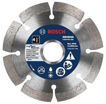 Diamond Blade-4.5in Seg  for Hard Mat - Cutting