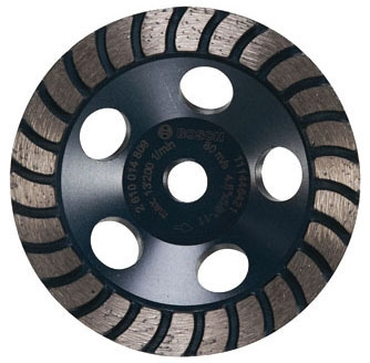 Cup Wheel-4.5in Turbo Row Diamond - Grinding