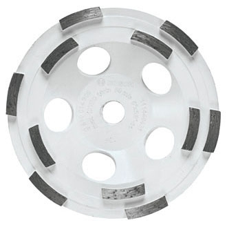 Cup Wheel-5in x 5/8-11 Double Row - Grinding