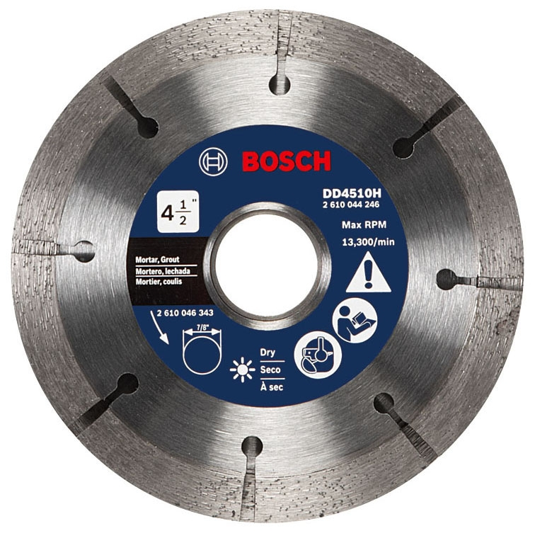 Tuckpoint Blade 4.5in - Grinding