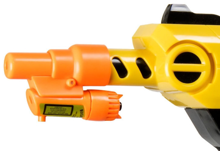 Laser Attachment for Bug-A-Salt Gun