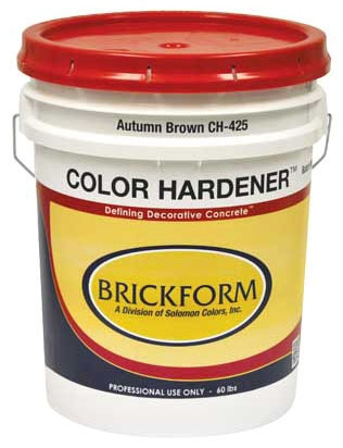 Color Hardener-Sun Buff 60# Pl - Decorative Concrete Products