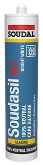 Silicone-White 10.1oz 100% Professional - Concrete Joint Filling