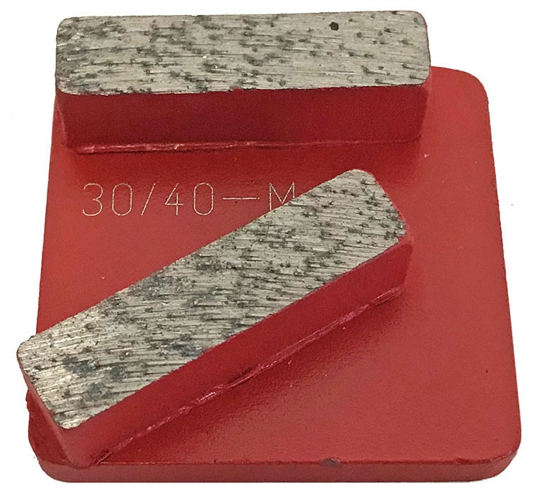 Diamond Tool-30/40g 2 Seg Metal Medium - Surface Preparation & Polishing