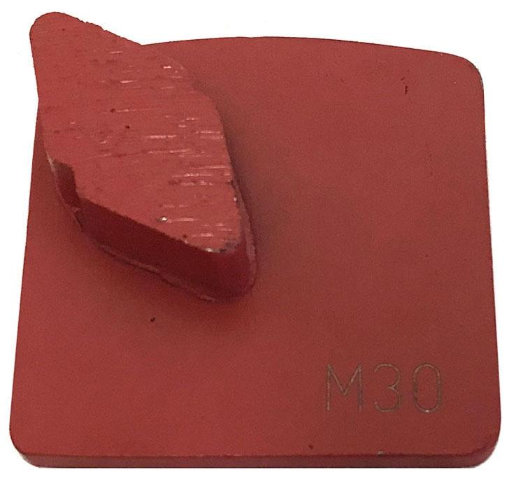Diamond Tool-30/40g 1 Seg Metal Medium - Surface Preparation & Polishing