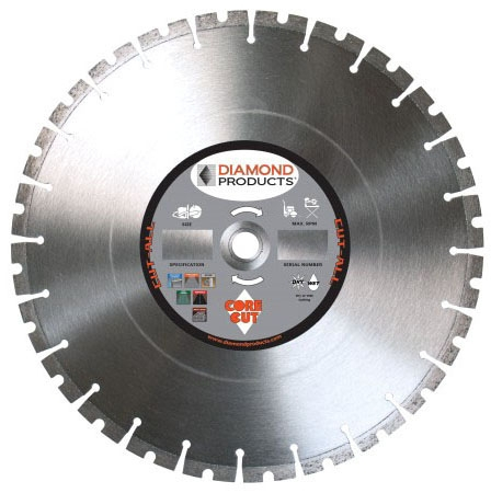 Diamond Blade-14in DP Purple - Circular