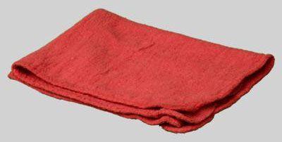 """DiversiTech Shop Towel (10 per Pack), 16"""" x 13"""", Cotton, Reusable, Heavy Duty"""