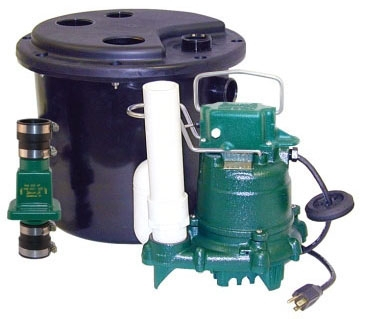 1/3 HP Drain Pump Package with Check