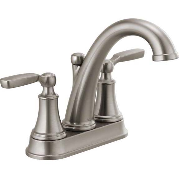 DELTA WOODHURST: BATHROOM FAUCET STAINLESS