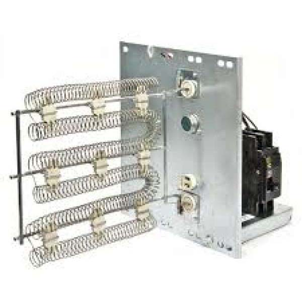 15 kW Air Conditioner Fan Coil Electric Heater Kit - 208/230 VAC, 1-Phase, with Circuit Breaker