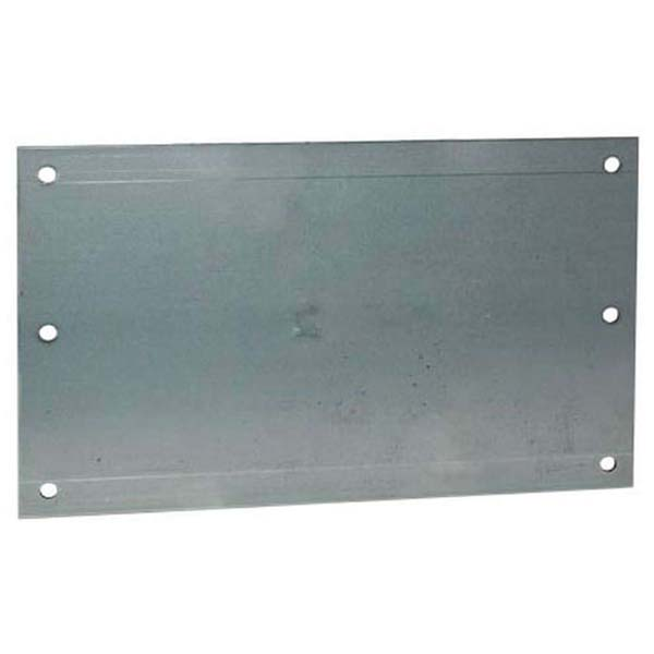 """6-Hole Nail Plate - Steel, 12"""" x 6"""""""