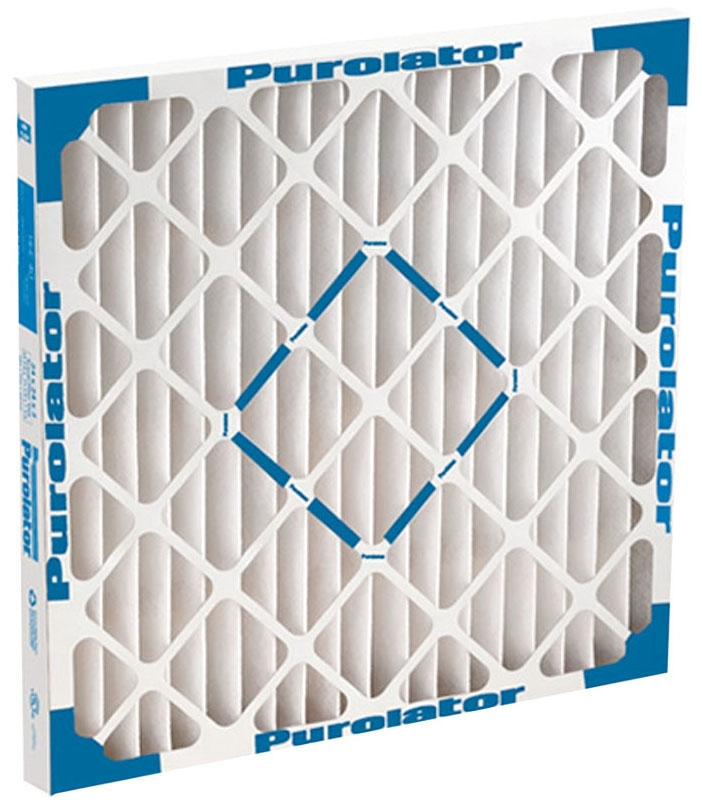 "Purolator Hi-E® 40 Panel Air Filter, 16"" x 25"" x 2"", 1400 CFM, 95% Arrestance, MERV 8, 8 Sq Ft Synthetic Fiber Media, Extended Surface, Pleated"