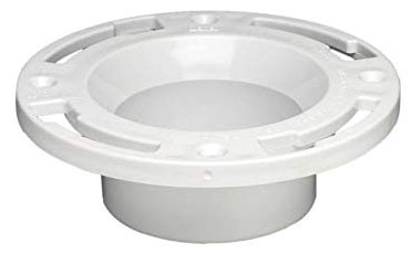 "4"" x 3"" ABS Knockout Closet Flange (883-At)"