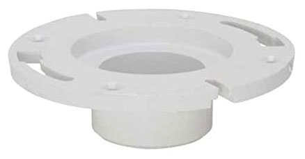 "Closet Flange for 3"" S40 PVC Pipe, 3"", Solvent Weld"