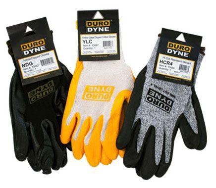 Duro Dyne (#10062) Nitrile Dipped Gloves ANSI-1, 12/Case