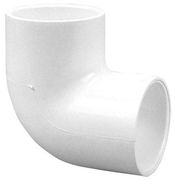 "1"" x 1"" PVC Elbow, 90D, Socket x Socket, S40, 59 PSI"